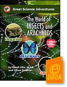 The World of Insects and Arachnids (E-book)