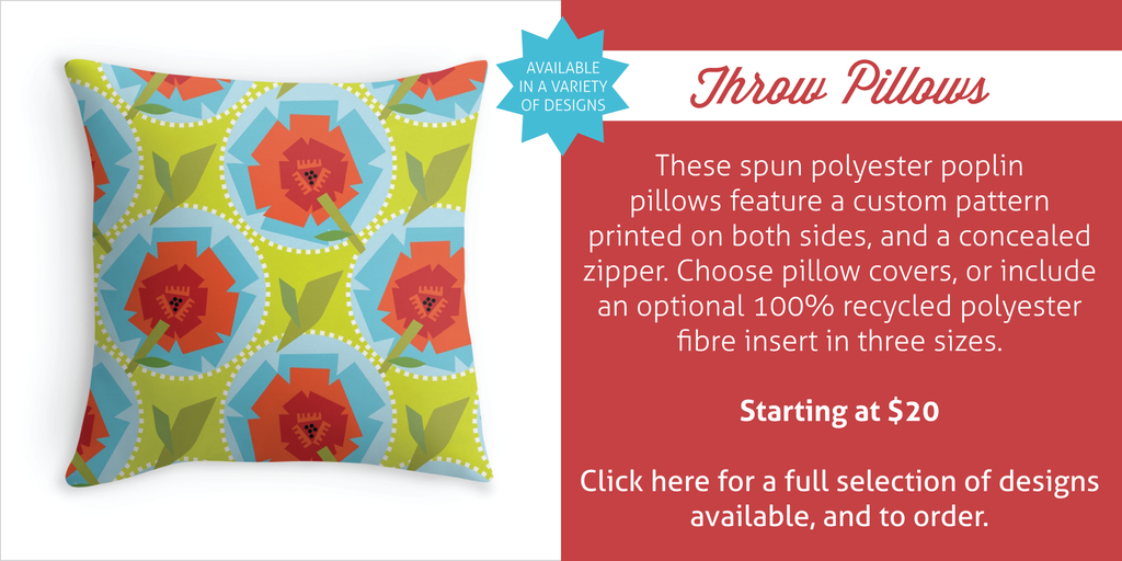 Throw Pillows by Erin Brimmer