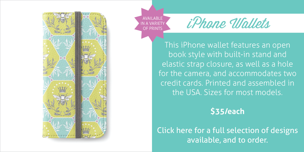 iPhone Wallets by Erin Brimmer