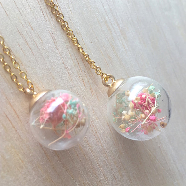 Mum & Me Necklace Set - Cotton Candy