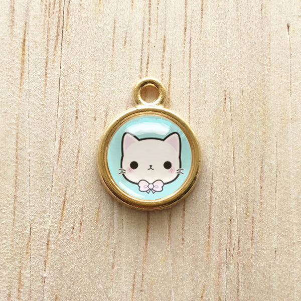 Kit Pendant Charm - Blue