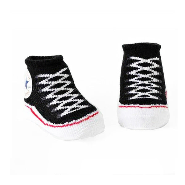 Baby Walker Socks - Sneaker Black