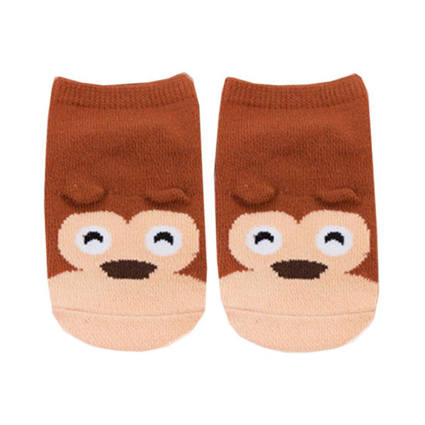 Baby Walker Socks - Miguel Monkey