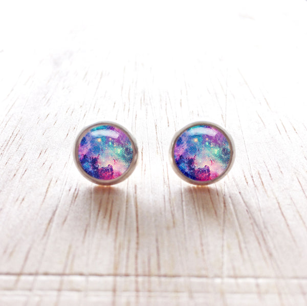 Orion Stud Earrings - Silver