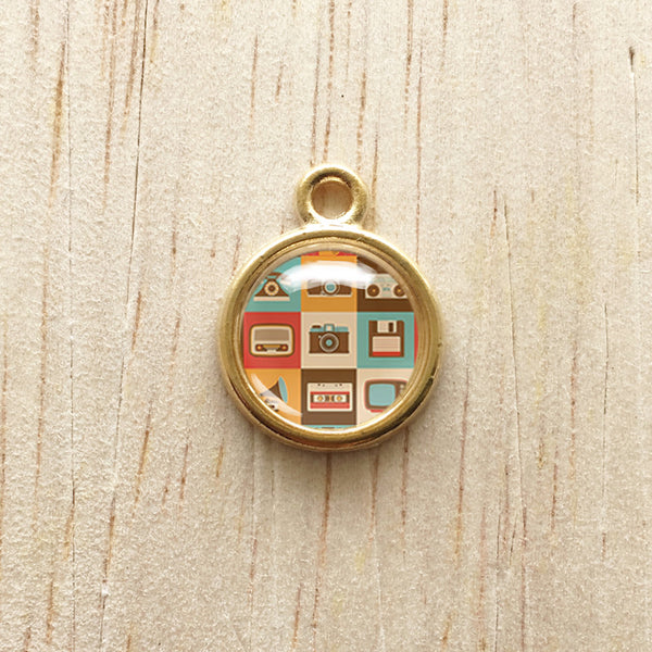 Retro Camera Pendant Charm Bracelet Jewelry