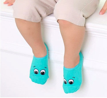 Baby Walker Socks - Innocent Green