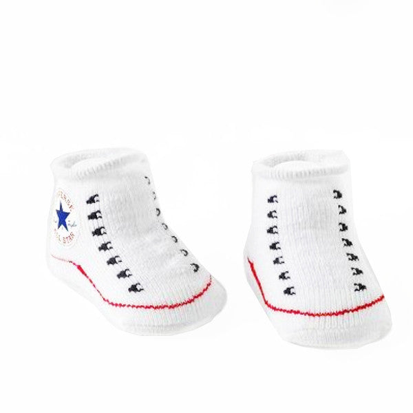 Baby Walker Socks - Sneaker White