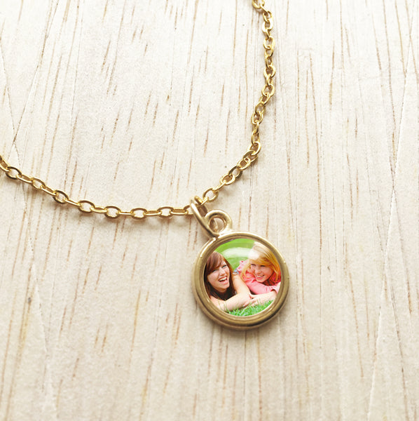 Custom Photo Pendant Bracelet (Desktop Only)