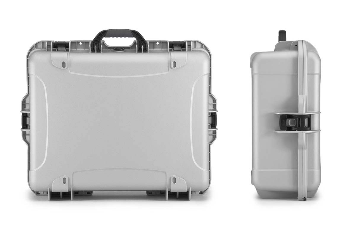 Back and Side Views of the Nanuk 945 Case