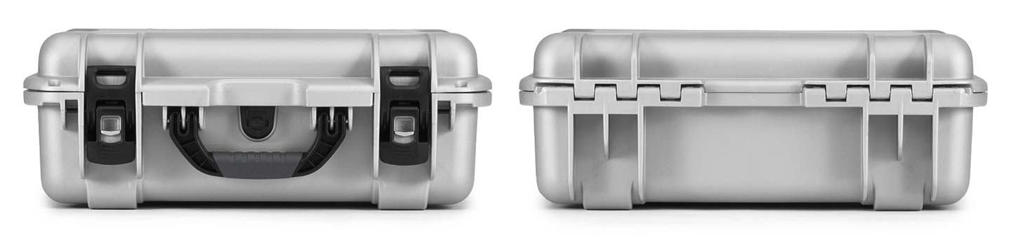 Nanuk 925 in Silver Front and Back Views