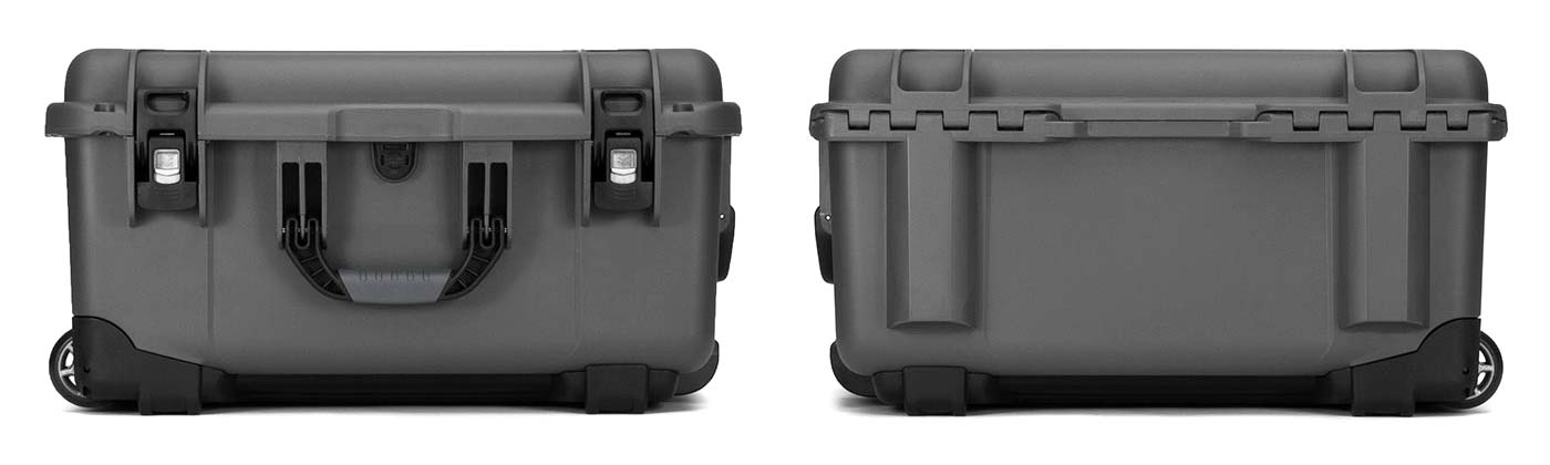Nanuk 950 in Graphite Front and Back Views