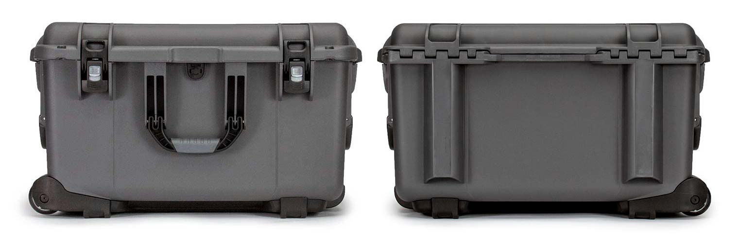 Nanuk 960 in Graphite Front and Back Views