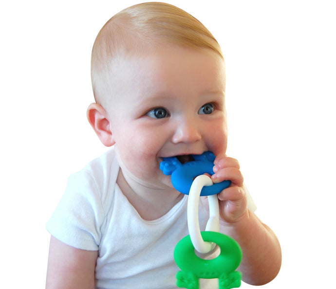 Teething Keys (Blue)