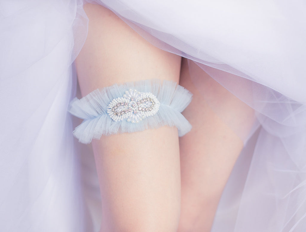 Tulle and Rhinestone <br> GS204