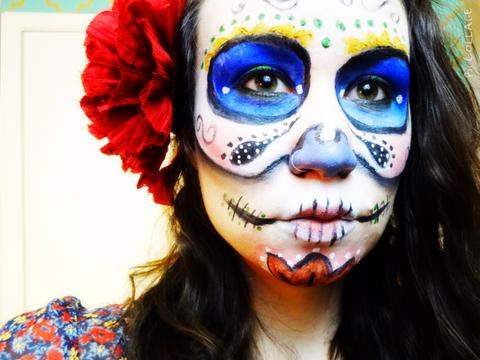 Face paint from Natural Art Supplies