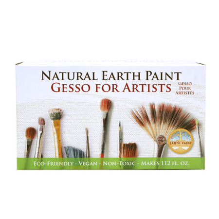 Eco-Friendly Artist Gesso is available at Natural Art Supplies