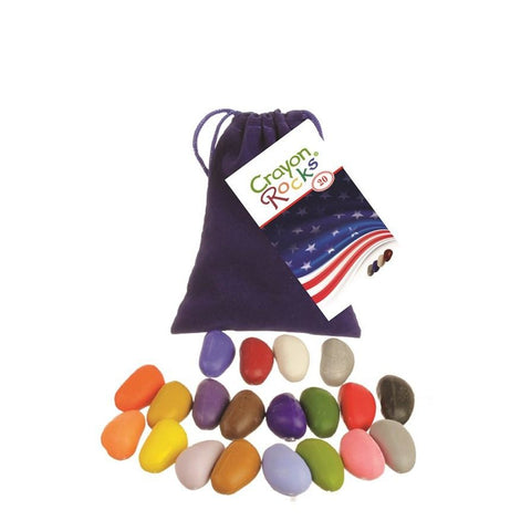 This is a beautiful collection of colors from Crayon Rocks and they are a favorite at Natural Art Supplies. Your children will love these natural crayons