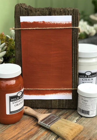Milk Paint Andalucia Orange