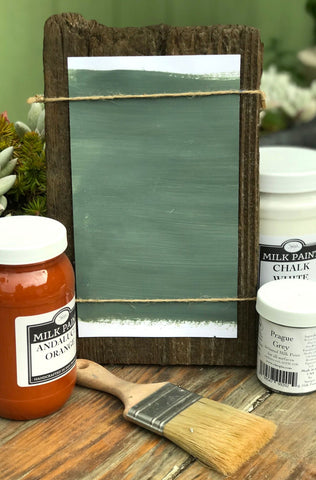 Milk Paint Bohemia  Gray is available at Natural Art Supplies