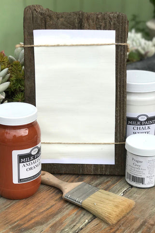 Milk Paint Chalk White is available at Natural Art Supplies