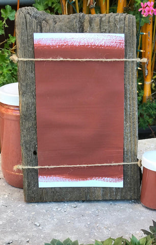 Milk Paint Falun Red is available at Natural Art Supplies