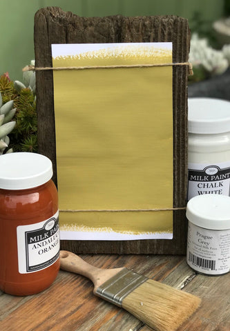 Milk Paint Loden Green is available at Natural Art Supplies