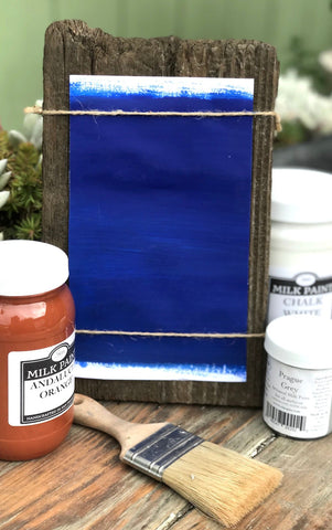 Milk Paint Marrakesh Azure is available at Natural Art Supplies