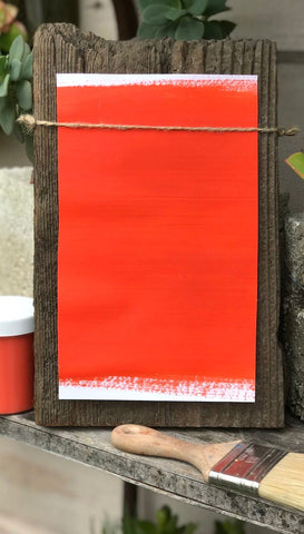 Milk Paint Molteni Orange is available at Natural Art Supplies