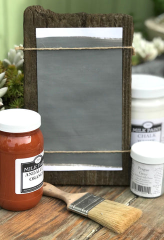 Milk Paint Paynes Gray is available at Natural Art Supplies