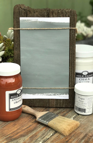 Milk Paint Prague Gray is available at Natural Art Supplies