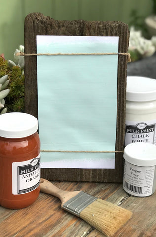Milk Paint Rif Blue is available at Natural Art Supplies