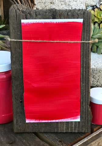 Milk Paint Taravat Vermillion is available at Natural Art Supplies