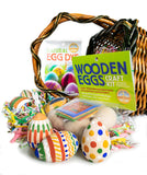 Wooden Eggs Craft Kit is available at Natural Art Supplies