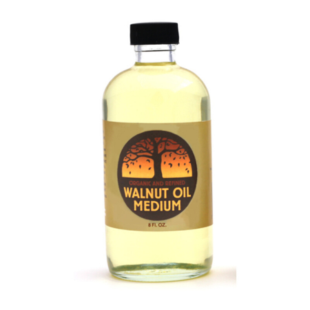 Organic walnut oil is available at Natural Art Supplies
