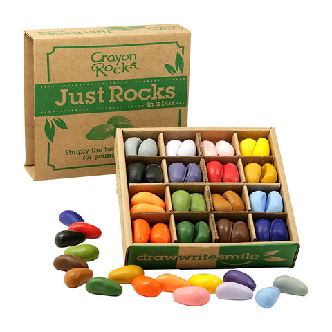 Natural Art Supplies Just Rocks in a Box - 16 Colors