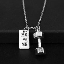 ME vs ME Dumbbell Necklace