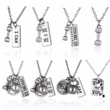 Motivational Bodybuilding Necklaces