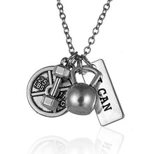I CAN bodybuilding necklace