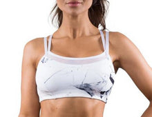 2 Piece Marble Sports Bra + Leggings Set