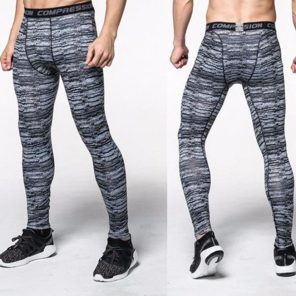 Mens Distorted Training Tights