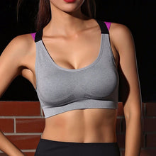 Shockproof Push-Up Sports Bra