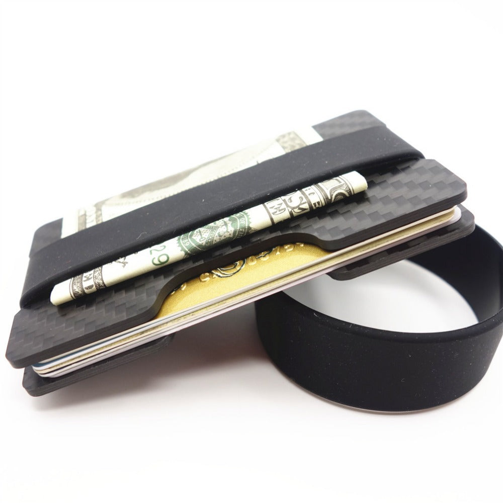 Carbon Fiber RFID Blocking Wallet