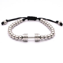 Titanium Gym Dumbbell Bracelet