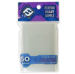 Sleeves - Clear Fantasy Flight 50pk (59x92)