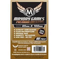 Sleeves - Clear Mayday Games 80pk (65x100)