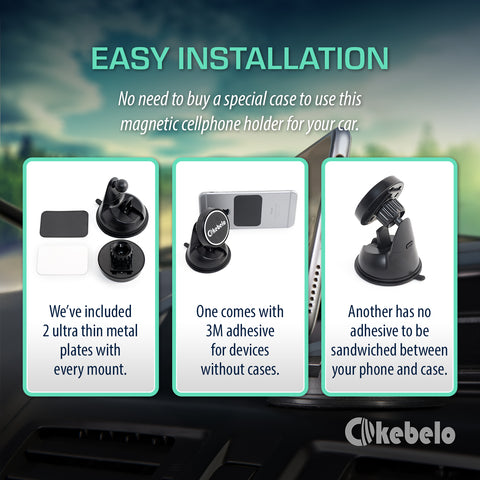 easy installation car mount