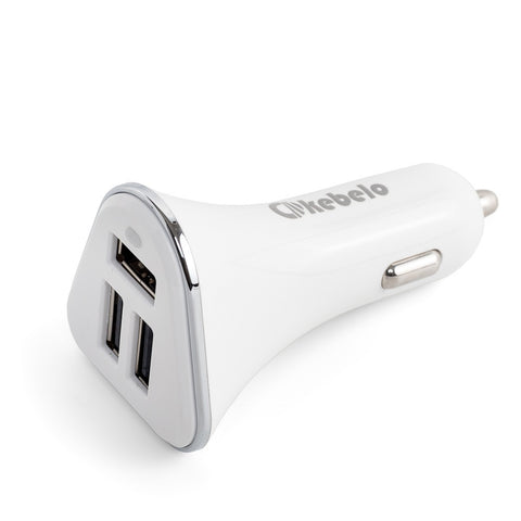 kebelo Car Phone Charger [3 Usb Ports] 6.8A / 34W , Compatible With Iphone 6/6plus - Samsung Galaxy S5/S6/Edge - Gps And More