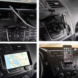 kebelo mcd2 cd slot magnetic car mount holder smartphone ipad  tablet and gps - kebelodirect