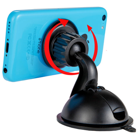 kebelo 2 in 1 magnetic car mount holder for smartphone and gps . Fits all phones such as Iphone 6/6plus and more.