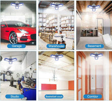 Load image into Gallery viewer, LED 360™ Degrees Garage Deformable Ceiling Light - kebelodirect